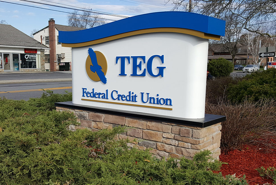 Teg Federal Credit Union Gns Group Ltd Neon Led Message Signs